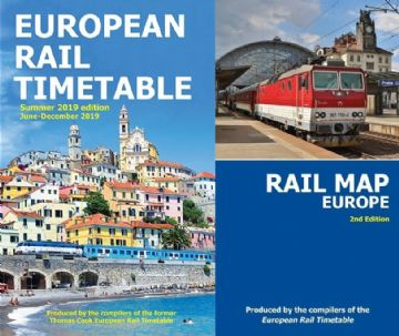 Summer 2019 and <br> Rail Map Europe BUNDLE